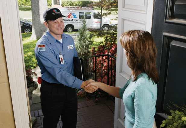 in-home estimate from Roy Inch & Sons Service Experts Heating & Air Conditioning